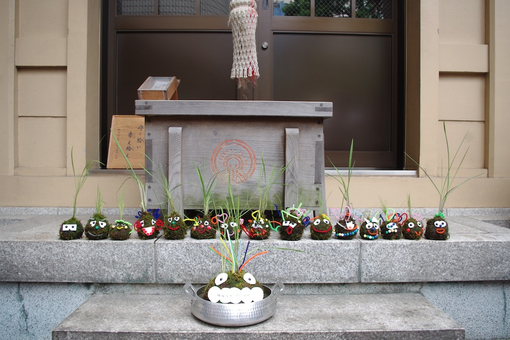 【満員御礼】WS info:ろっぽんぎで御田植祭/こけたんぼ@六本木・朝日神社(2015.6.14)