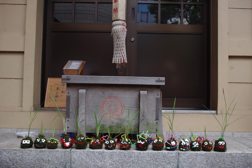 【満員御礼】WS info:第3回ろっぽんぎで御田植祭☆こけ田んぼ作り@六本木・朝日神社(6/5)