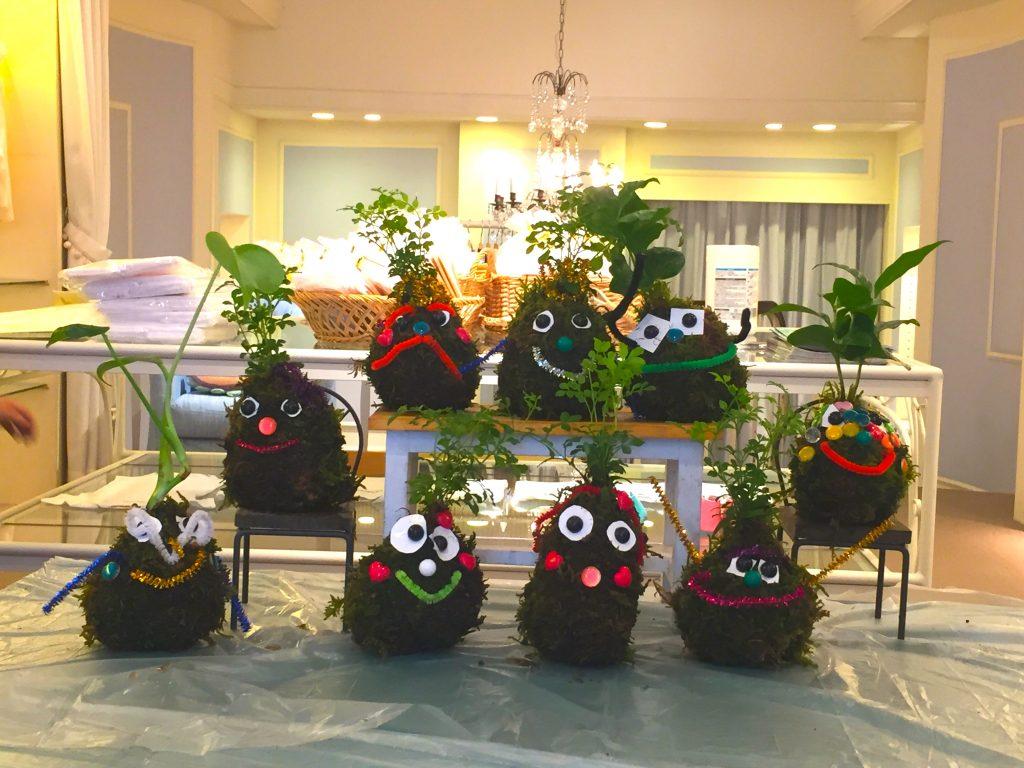 「ギンザのサヱグサ」で小さなみどりが誕生!! 〜可愛らしいお部屋の真ん中に、 泥んこと小さな観葉植物……!?〜