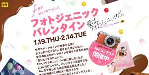WS info:渋谷ロフトでバレンタインこけ庭?!in「Valentine'sDay フォトジェニックスタジオ」LUMIXフォトコンも!